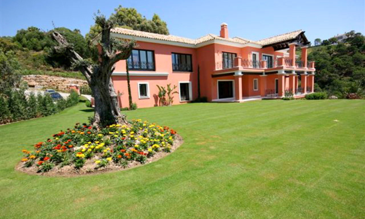 Exclusive villa for sale in La Zagaleta, Benahavis - Marbella 1
