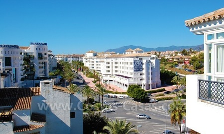 Penthouse apartment for sale in central Puerto Banus, Marbella 1