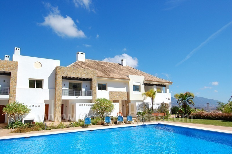 Houses for sale on Golf resort in Mijas at the Costa del Sol