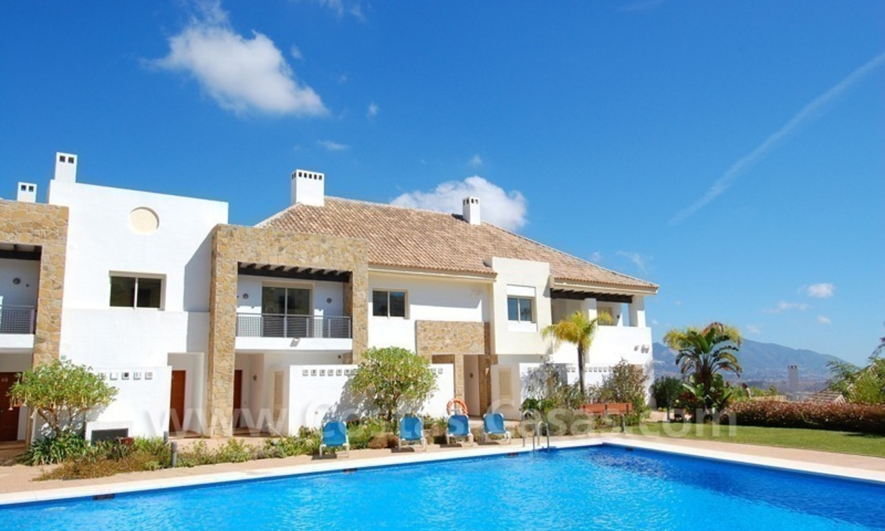 Houses for sale on Golf resort in Mijas at the Costa del Sol 0
