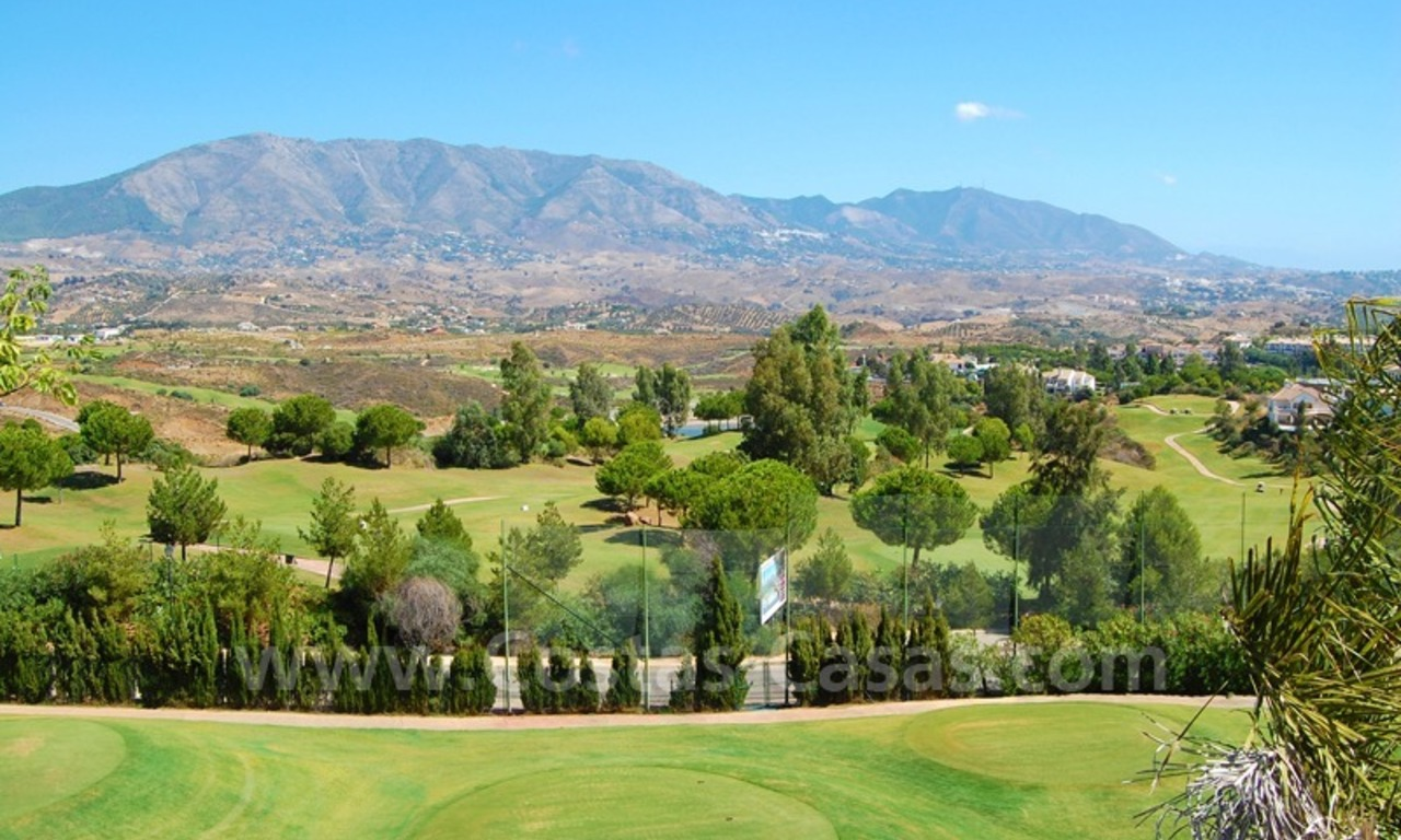 Houses for sale on Golf resort in Mijas at the Costa del Sol 5