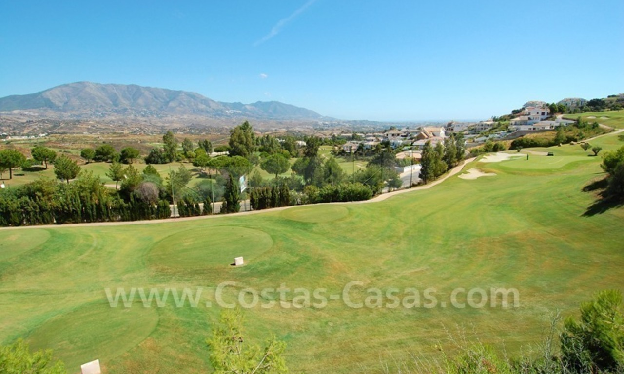 Houses for sale on Golf resort in Mijas at the Costa del Sol 10