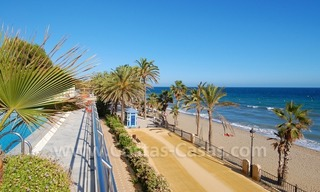 Luxury apartments for sale, frontline beach complex, Golden Mile near central Marbella 2