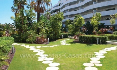Beachside apartments and penthouses for sale, Puerto Banus - Marbella 2