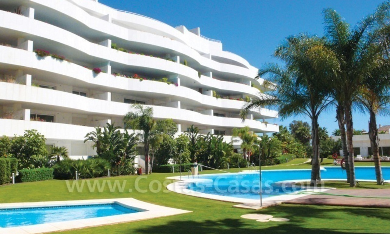 Beachside apartments and penthouses for sale, Puerto Banus - Marbella 0