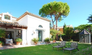 Beachside villa for sale on the New Golden Mile between Marbella and Estepona 2