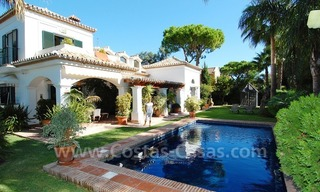 Beachside villa for sale on the New Golden Mile between Marbella and Estepona 0