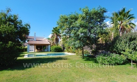 Bargain detached villa for sale in golf area of Marbella – Benahavis 7
