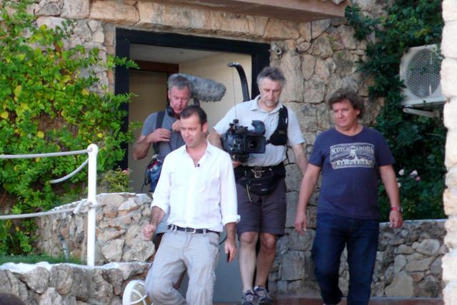 Rene froger en Peter van der vorst in puerto banus