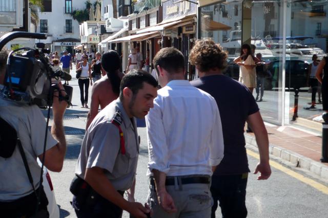 Peter van der vorst en Rene froger in puerto banus