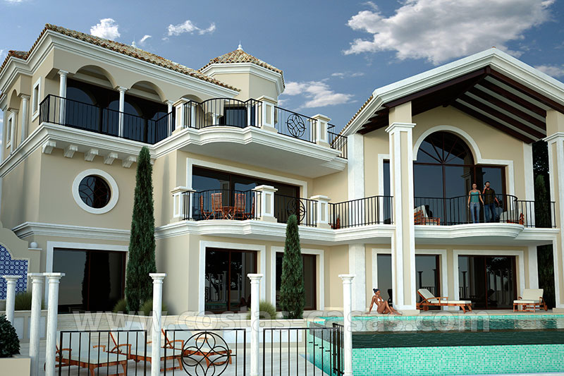 Classical luxury villa for slae in Marbella