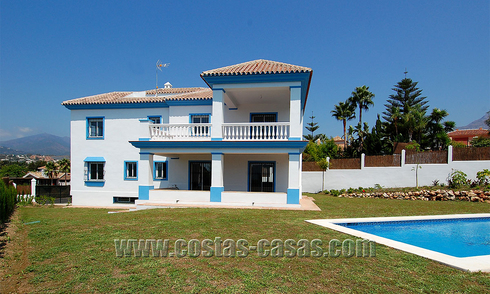 Newish Andalusian style golf villa for sale in Nueva Andalucía, Marbella 29761
