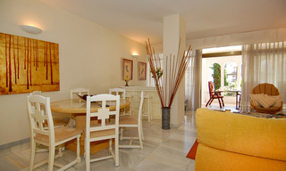 For Sale in Puerto Banús, Marbella: Beachside Apartment Nearby Marina 29838