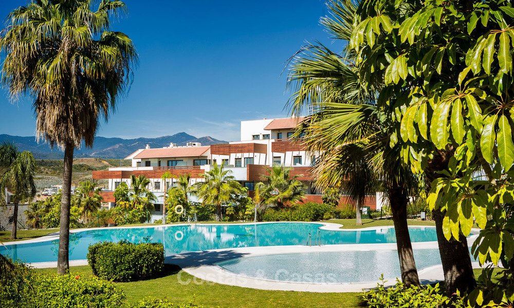 Modern Apartments for sale at 5-Star Golf Resort, New Golden Mile, Marbella - Benahavís. Last units, up to 36% off! 17880