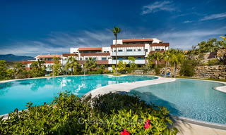 Modern Apartments for sale at 5-Star Golf Resort, New Golden Mile, Marbella - Benahavís. Last units, up to 36% off! 17882