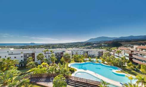 Modern Apartments for sale at 5-Star Golf Resort, New Golden Mile, Marbella - Benahavís. Last units, up to 36% off! 17889