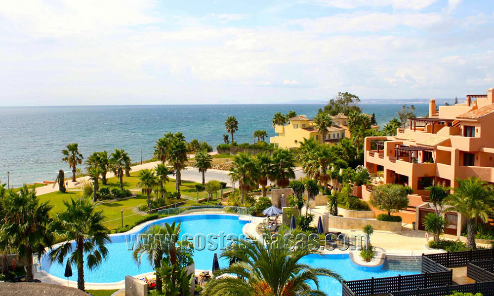 Luxury Apartments for sale in beachfront resort, New Golden Mile, Marbella - Estepona. 20% OFF for last apartments! 5304