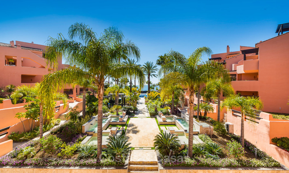 Luxury Apartments for sale in beachfront resort, New Golden Mile, Marbella - Estepona. 20% OFF for last apartments! 5291