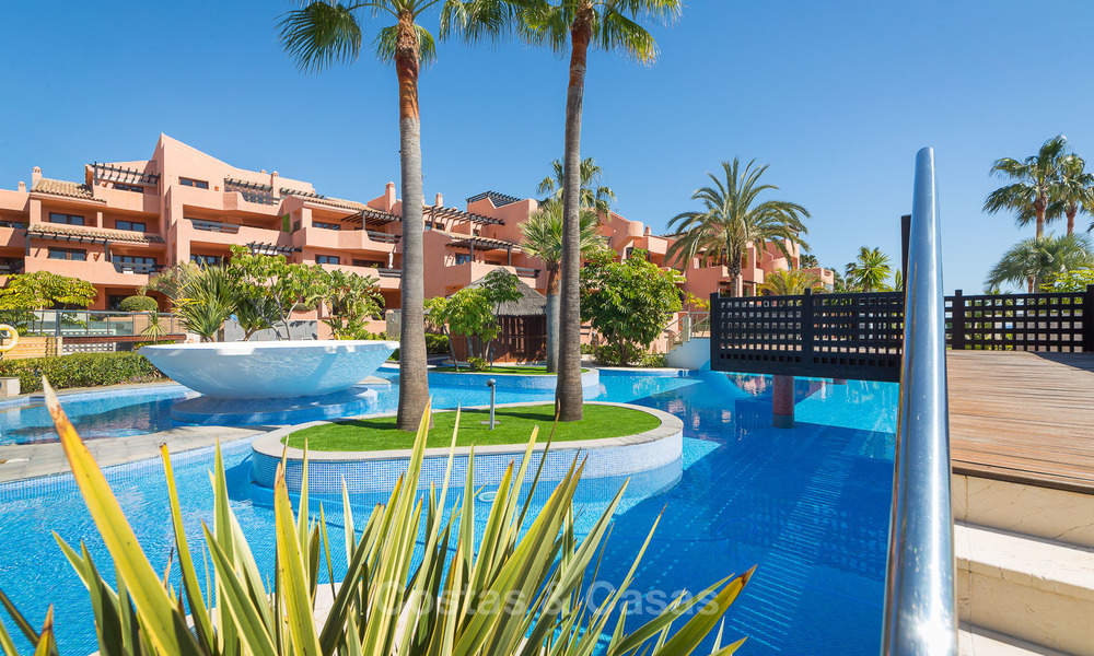 Luxury Apartments for sale in beachfront resort, New Golden Mile, Marbella - Estepona. 20% OFF for last apartments! 5292