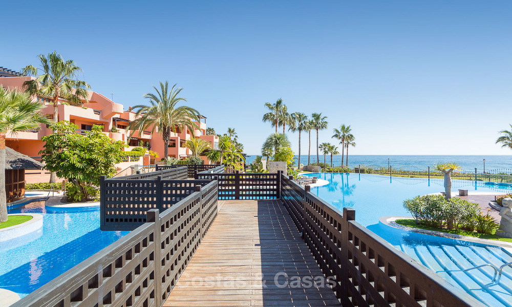 Luxury Apartments for sale in beachfront resort, New Golden Mile, Marbella - Estepona. 20% OFF for last apartments! 5294