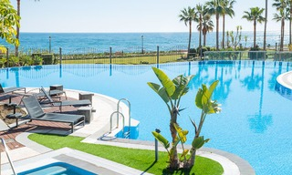 Luxury Apartments for sale in beachfront resort, New Golden Mile, Marbella - Estepona. 20% OFF for last apartments! 5295