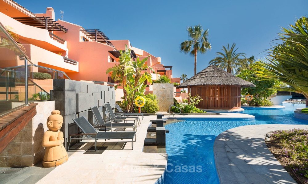 Luxury Apartments for sale in beachfront resort, New Golden Mile, Marbella - Estepona. 20% OFF for last apartments! 5276
