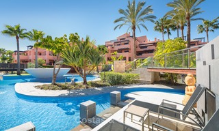 Luxury Apartments for sale in beachfront resort, New Golden Mile, Marbella - Estepona. 20% OFF for last apartments! 5277
