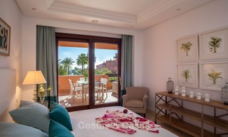 Luxury Apartments for sale in beachfront resort, New Golden Mile, Marbella - Estepona. 20% OFF for last apartments! 5284