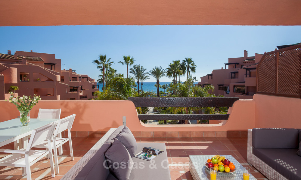 Luxury Apartments for sale in beachfront resort, New Golden Mile, Marbella - Estepona. 20% OFF for last apartments! 5285