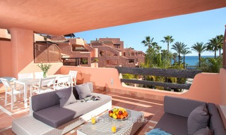 Luxury Apartments for sale in beachfront resort, New Golden Mile, Marbella - Estepona. 20% OFF for last apartments! 5286