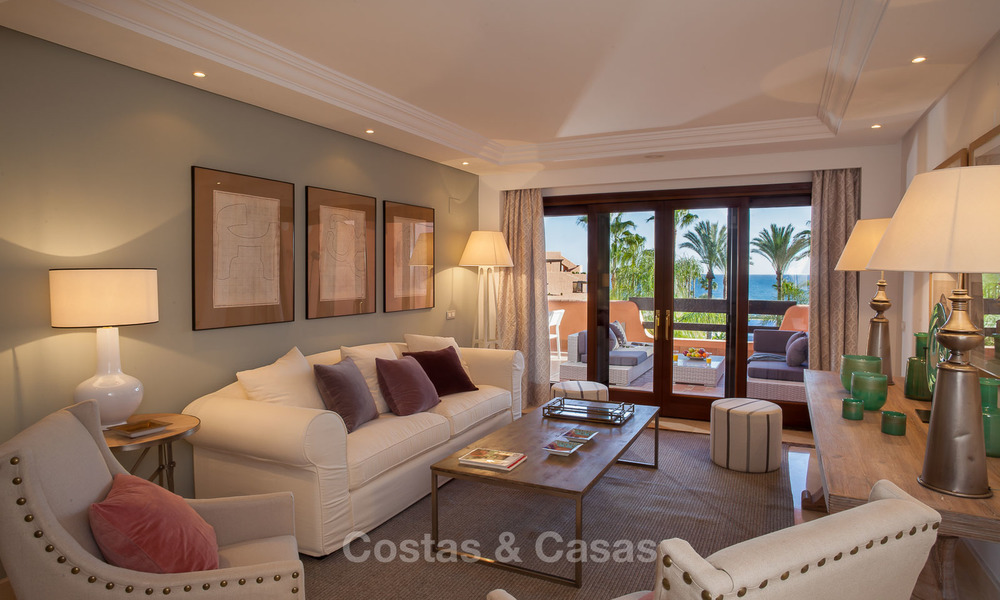 Luxury Apartments for sale in beachfront resort, New Golden Mile, Marbella - Estepona. 20% OFF for last apartments! 5288