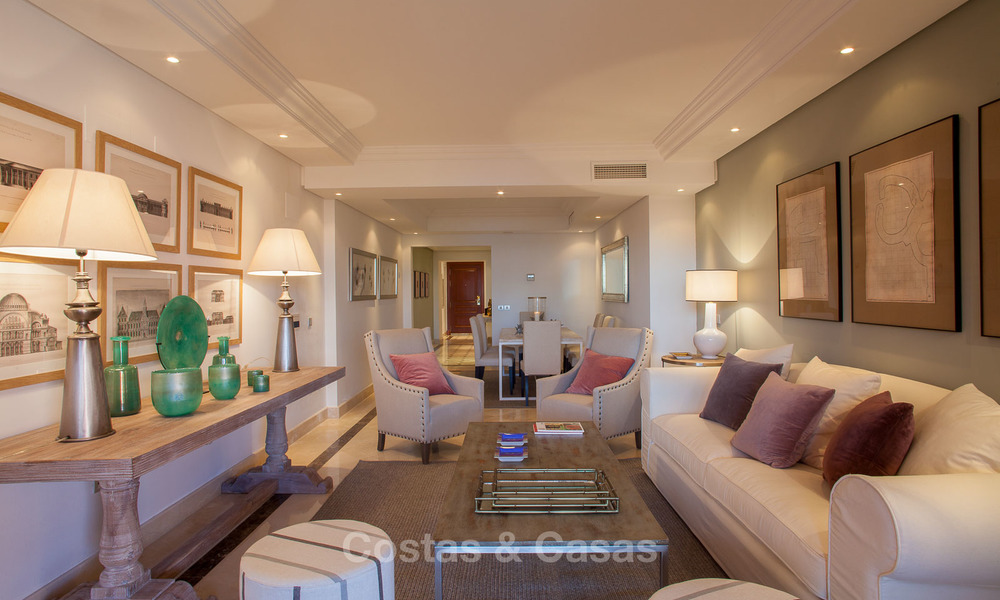 Luxury Apartments for sale in beachfront resort, New Golden Mile, Marbella - Estepona. 20% OFF for last apartments! 5289