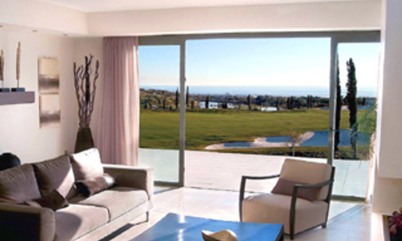 Front line golf luxury apartments for sale - Marbella / Benahavis - Costa del Sol 6