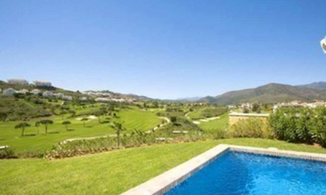Front line golf villa property for sale - Mijas - Costa del Sol - Southern Spain 1