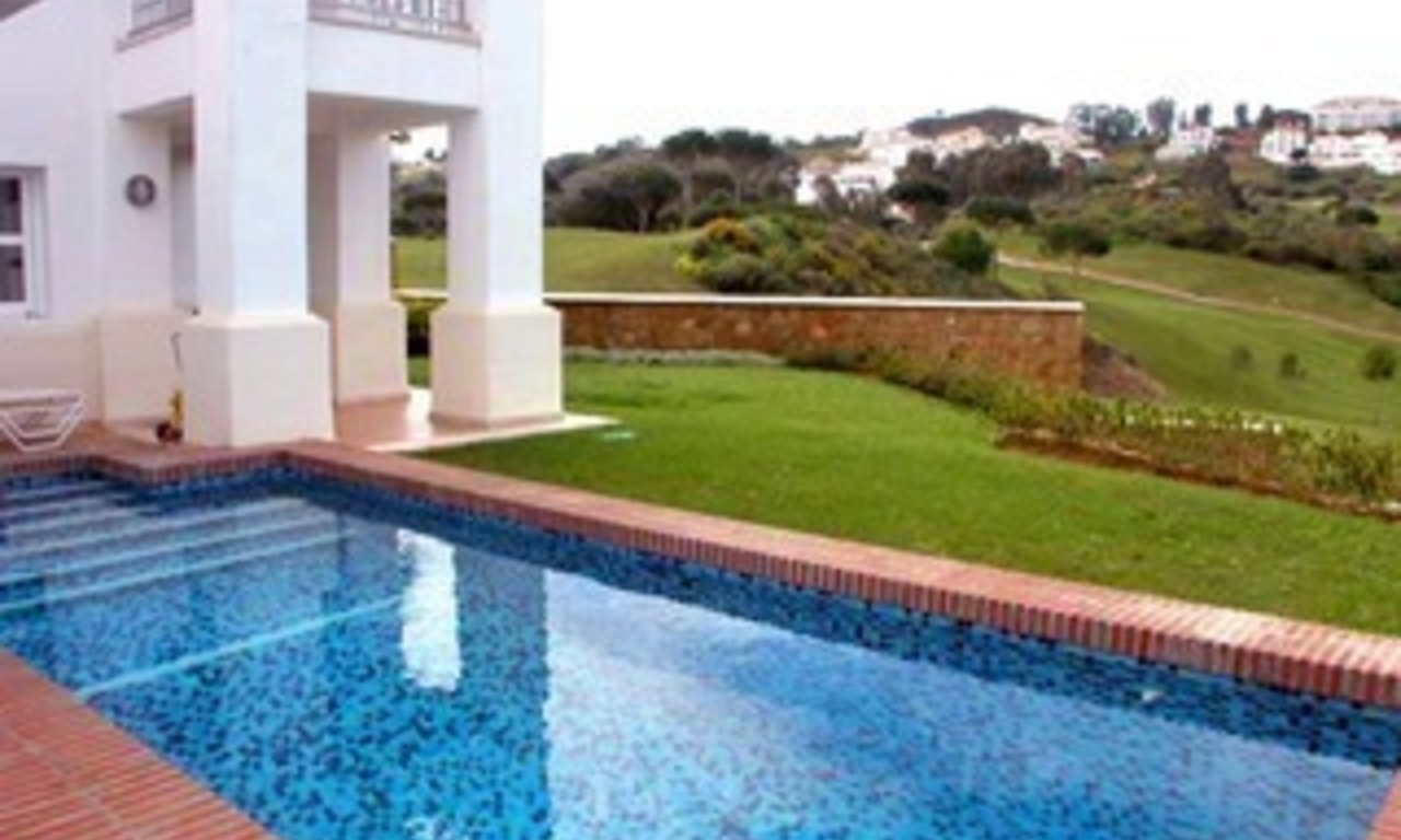 Front line golf villa property for sale - Mijas - Costa del Sol - Southern Spain 2
