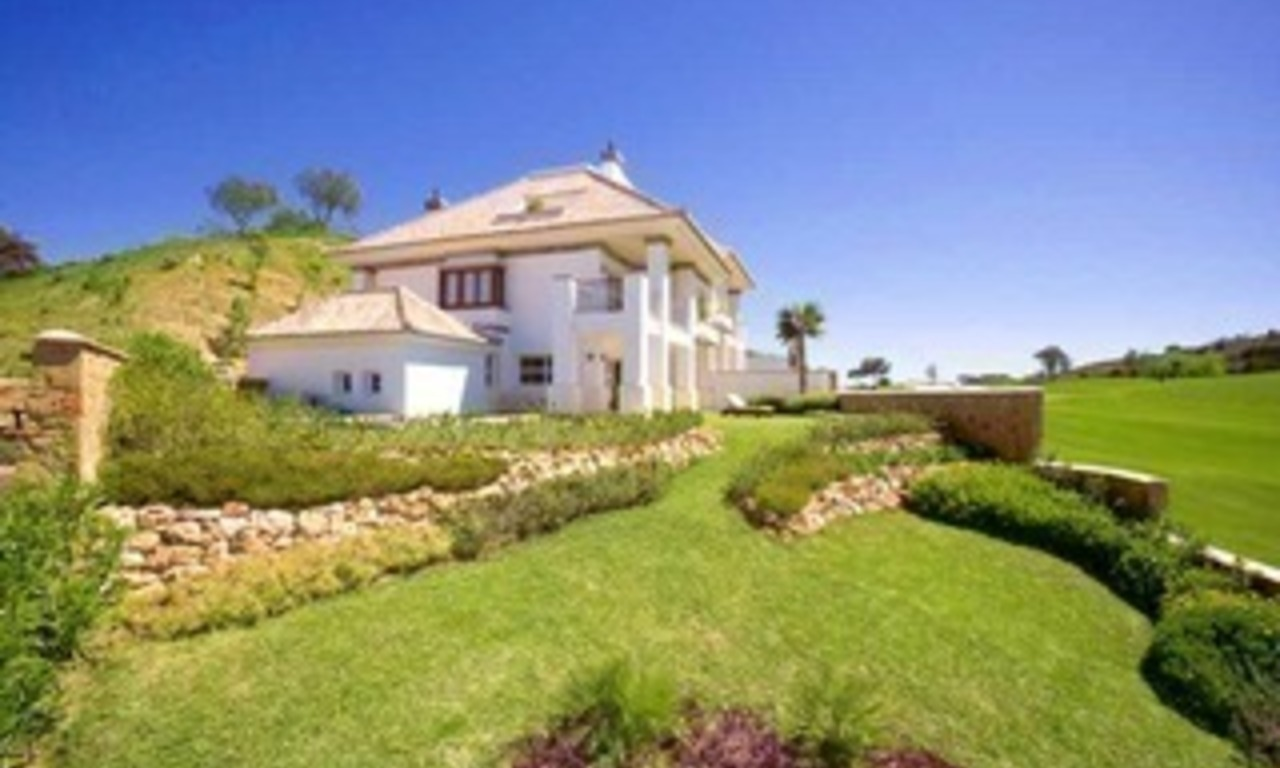Front line golf villa property for sale - Mijas - Costa del Sol - Southern Spain 0