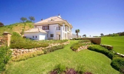 Front line golf villa property for sale - Mijas - Costa del Sol - Southern Spain