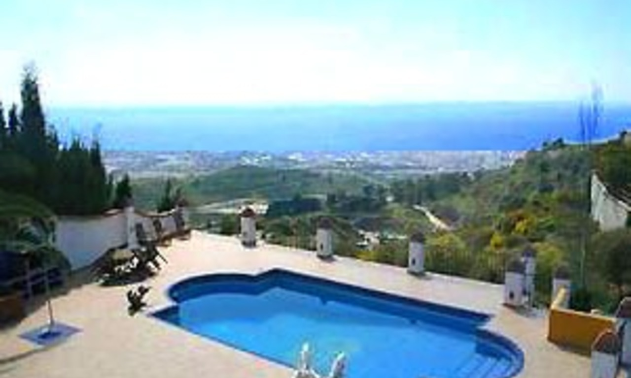 Villa property for sale - Ojen - Marbella - Costa del Sol 0