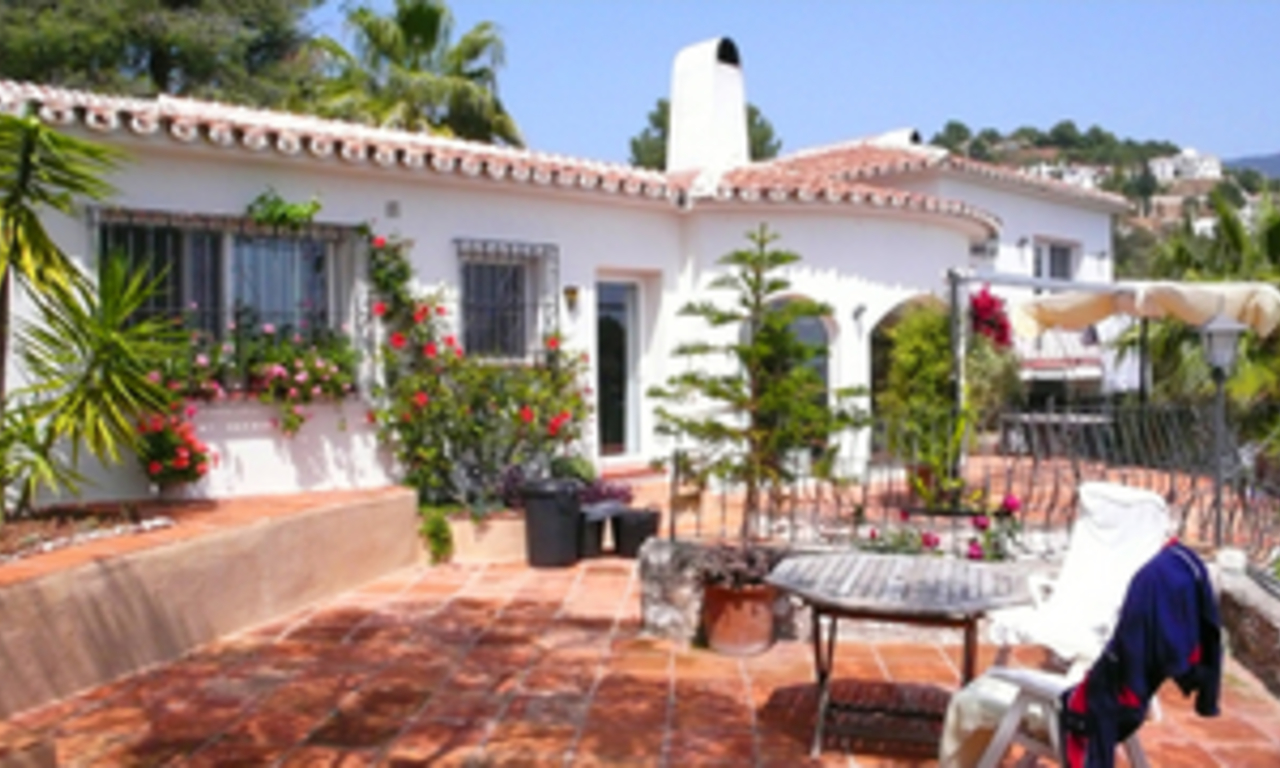 Villa property for sale at walking distance of the village Mijas Pueblo, Costa del Sol 2