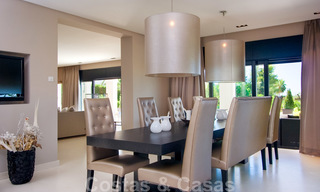 Impressive contemporary luxury villa with guest apartment for sale in the Golf Valley of Nueva Andalucia, Marbella 22591