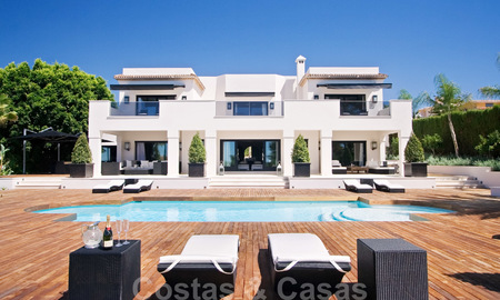Impressive contemporary luxury villa with guest apartment for sale in the Golf Valley of Nueva Andalucia, Marbella 22592