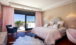 Impressive contemporary luxury villa with guest apartment for sale in the Golf Valley of Nueva Andalucia, Marbella 22594