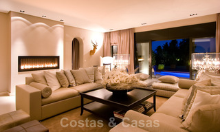 Impressive contemporary luxury villa with guest apartment for sale in the Golf Valley of Nueva Andalucia, Marbella 22606