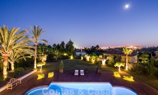Impressive contemporary luxury villa with guest apartment for sale in the Golf Valley of Nueva Andalucia, Marbella 22608