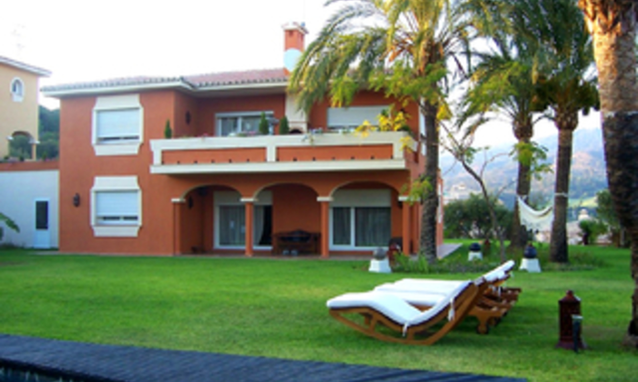 Villa for sale within own private secure urbanisation, Marbella east 5