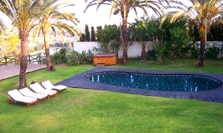 Villa for sale within own private secure urbanisation, Marbella east 4