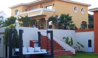 Villa for sale within own private secure urbanisation, Marbella east 6