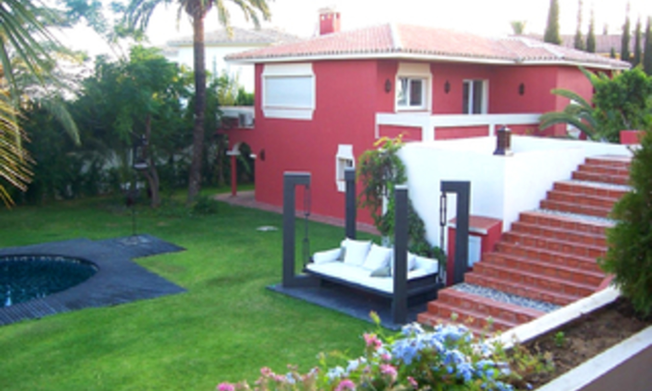 Villa for sale within own private secure urbanisation, Marbella east 7