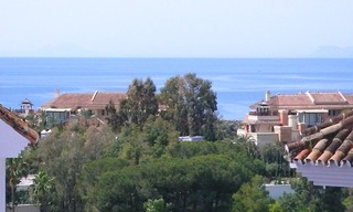 Beachside Penthouse apartment for sale in Puerto Banus, Marbella 1