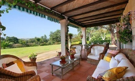 Property to buy: Villa mansion for sale Frontline golf Valderrama, Sotogrande 12
